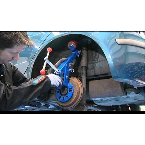 Outil remise en forme de passage de roue pro