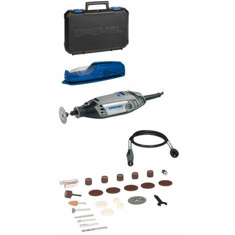 Outil rotatif multifonction 130W DREMEL® Multifonction 3000-1 / 25 EZ WRAP 25 Accessoires Tension 230V