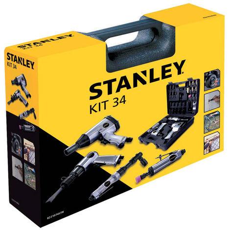 Outils pneumatiques Kit 34 Stanley pour compresseur d'air