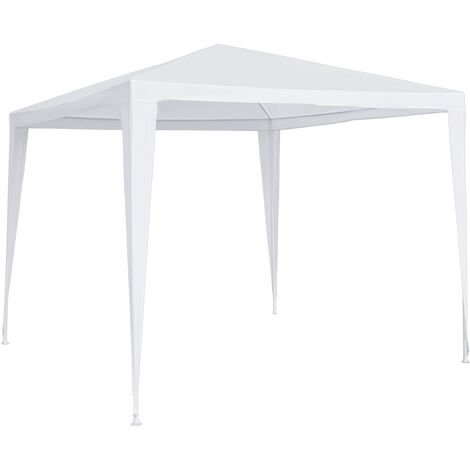 Outsunny 2.7 x 2.7m Garden Gazebo Marquee Party Tent Wedding Canopy