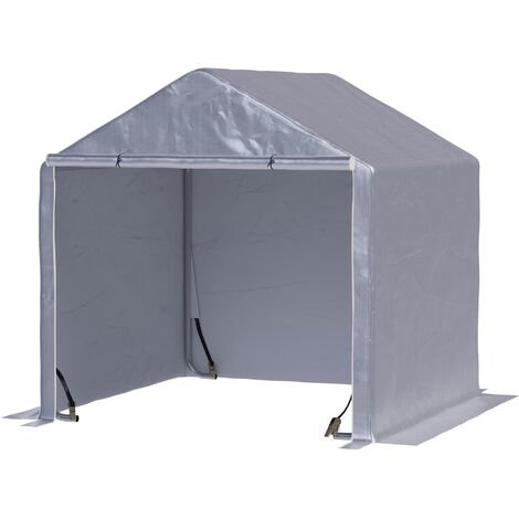 """main image of """"Outsunny 2mx2m Steel Frame Outdoor Carport Canopy Tent UV-Resistant w/ Cover"""""""