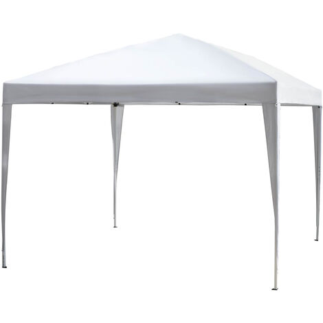"""main image of """"Outsunny 3 x 3m Garden Pop Up Gazebo Foldable Canopy UV Protection + Carry Bag"""""""