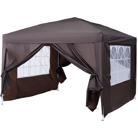 """main image of """"Outsunny 3 x 3m Pop Up Gazebo Marquee + Carry Bag"""""""
