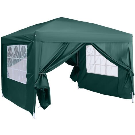 """main image of """"Outsunny 3 x 3m Pop Up Gazebo Marquee + Carry Bag - Green"""""""