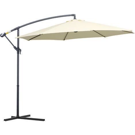 """main image of """"Outsunny 3m Banana Parasol Sunshade Garden Umbrella"""""""