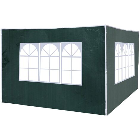 Outsunny 3m Canopy Gazebo Marquee Replacement Side Panel Wall