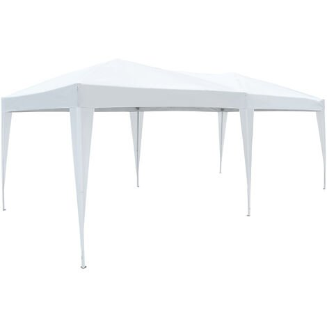 """main image of """"Outsunny 6 X 3M Waterproof UV Resistant Pop Up Gazebo w/ Carrying Bag"""""""