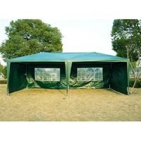 Outsunny 6m x 3m Garden Heavy Duty Gazebo Marquee Party Tent Wedding Canopy Outdoor
