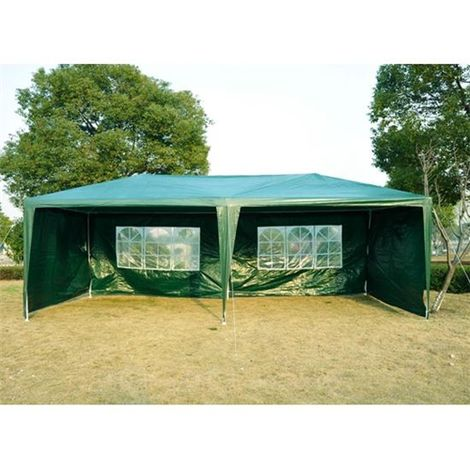 """main image of """"Outsunny 6m x 3m Garden Heavy Duty Gazebo Marquee Party Tent Wedding Canopy Outdoor"""""""