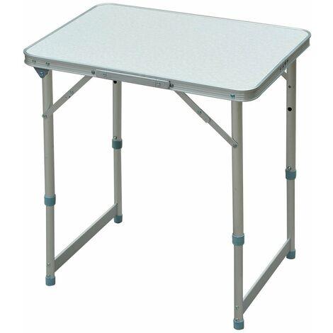 Alu Klapptisch Campingtisch 90*60*70cm Gartentisch Falttisch Mit Hocker