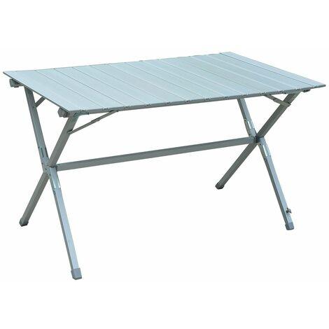 Outsunny® Alu Rolltisch Campingtisch Tragetasche
