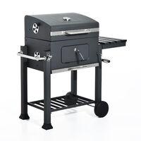 Outsunny Barbecue BBQ Grill a Carbonella con Coperchio b4a208c41ac
