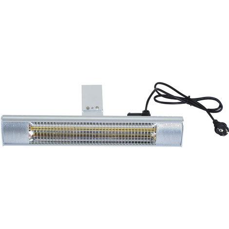 Outsunny® elektrischer Infrarot Heizstrahler für Innen-/Aussenbereich 2000W