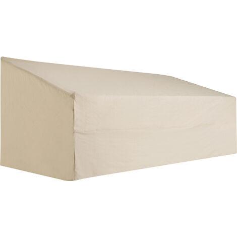 Outsunny Funda Protectora de Banco 3 Plazas Cubierta Mueble Impermeable 218x111x63/101cm