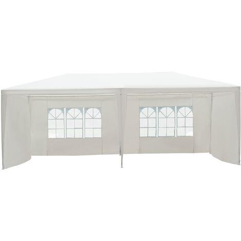 Outsunny Garden Gazebo Marquee Party Tent Wedding Canopy Outdoor