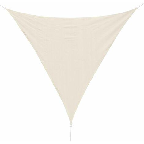 Outsunny Outsunny - Toldo vela triangulo varios tamaños y colores tamaño 3x3x3m color