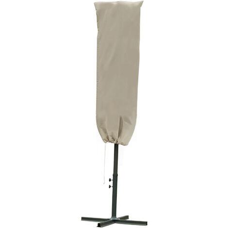 Outsunny Parasol Cover Cantilever Umbrella Outdoor UV Protector w/ Rod Zipper