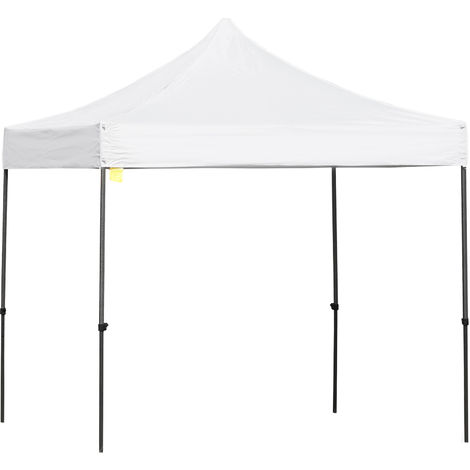 Outsunny Quick Setup Gazebo w/ Metal Frame Weather-Resistant Canopy 3x3m White