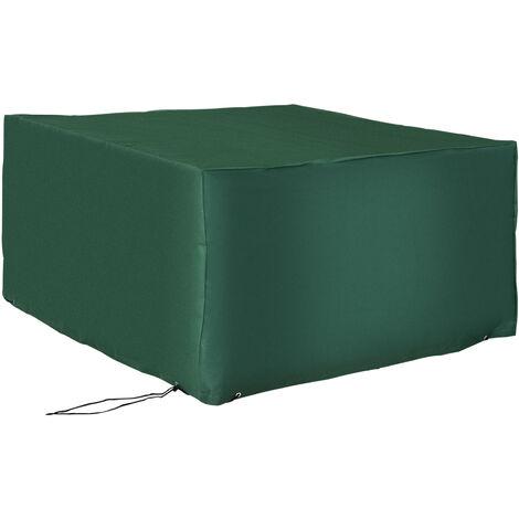 Outsunny Schutzhülle / Abdeckplane für Gartenmöbel 135x135x75cm