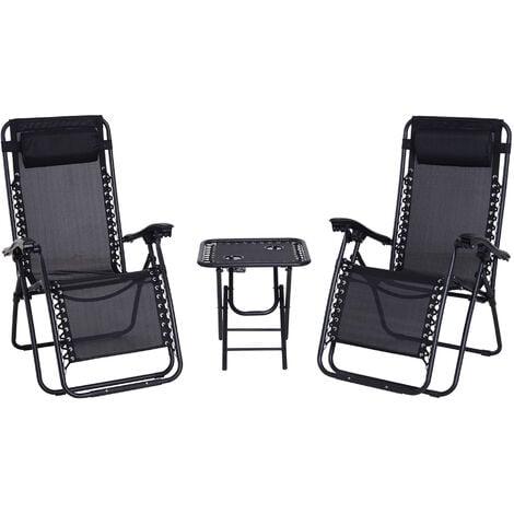 Poltrona Sdraio Relax Estiva sedia interno esterno regolabile con Poggiapiedi