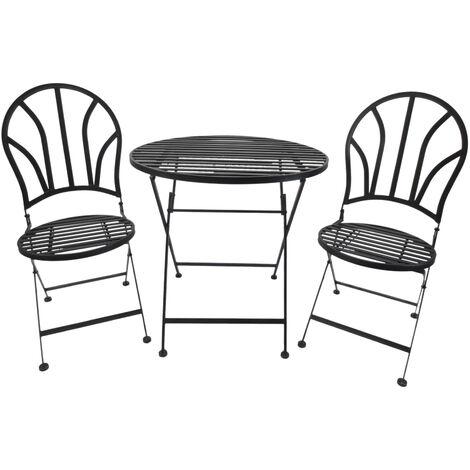 Outsunny set tavolo e sedie da giardino terrazzo for Tavolo con sedie da terrazzo