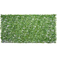 Outsunny® Sichtschutz Künstliche Hecke Wanddekoration 1.5x3m Hellgrün
