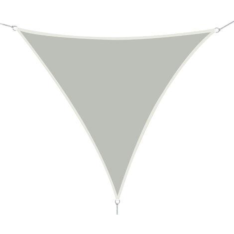 Outsunny® Sonnensegel Dreiecke Cream 3x3x3 m Polyester - wasserabweisend