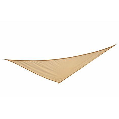 Outsunny® Sonnensegel Dreiecke Polyester Sand 6x6x6m