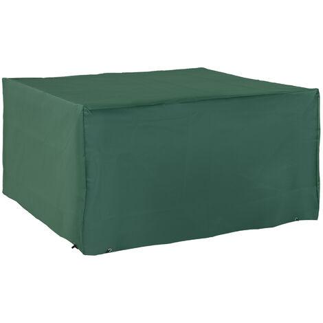 """main image of """"Outsunny UV Rain Protective Rattan Furniture Cover for Wicker Rattan Garden"""""""