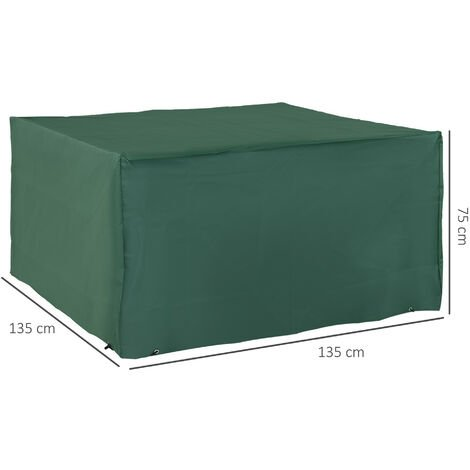Outsunny UV Rain Protective Rattan Furniture Cover for Wicker Rattan Garden