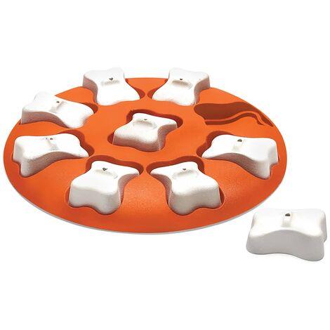 Outward Hound Dog Activity Strategy Game Nina Ottosson Dog Smart Orange and White