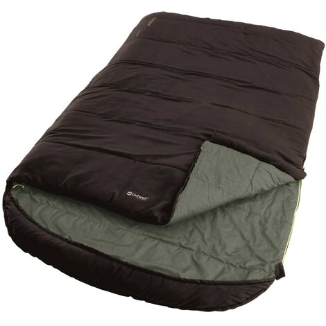 Outwell 2-Person Sleeping Bag Campion Lux Double 225x140 cm Brown