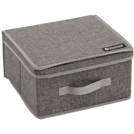 Outwell Caja de almacenaje plegable Palmar M gris poliéster 470355