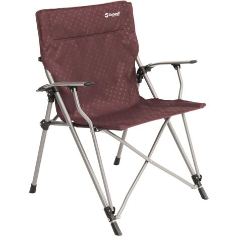 Outwell Camping Chair Goya Claret Steel 470316