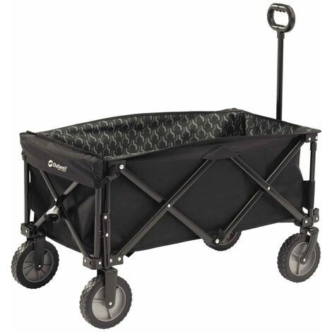 Outwell Carro plegable para camping Cancun Transporter negro 470334