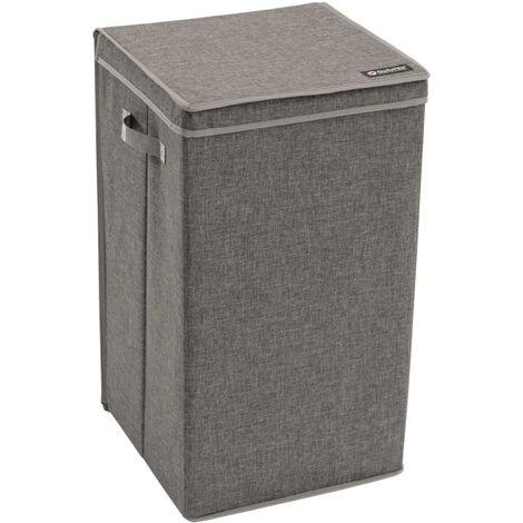 Outwell Cesto de ropa sucia Caya 78 L gris 470357