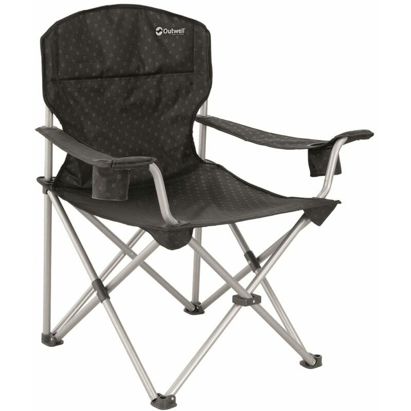 Outwell Folding Camping Chair Catamarca Xl 90x62x96 Cm Black 470048