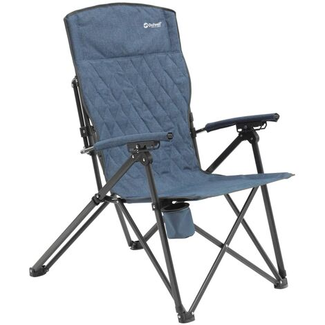 Outwell Silla de camping Ullswater acero azul 470311