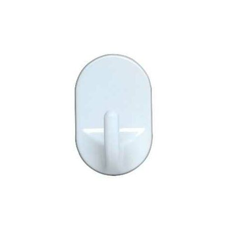 Oval hooks medium White WENKO