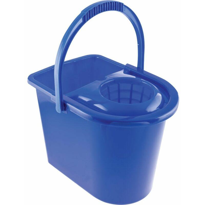 Image of 15LTR Plastic Mop Bucket Blue - Cotswold
