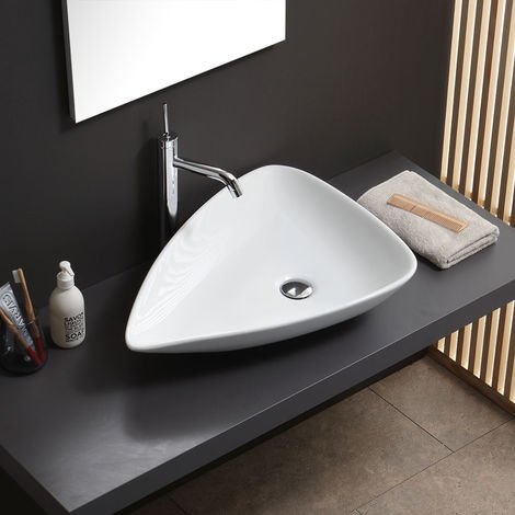 OVAL WASCHBASIN IN Keramik Modernes Design