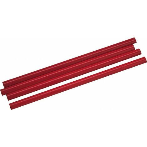 Ovalada Lápiz Carpintero Rojo 24 Cm Haromac
