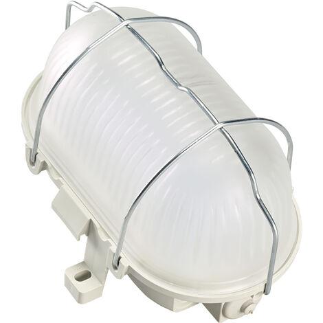 OVALED - Hublot / Plafonnier IP44 IK04 LED integ. 8W 4000K 750lm 35000h