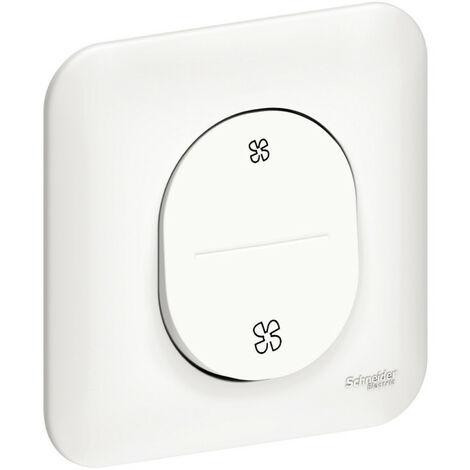 Ovalis - interrupteur pour VMC - 2 vitesses sans arrêt (S260233)
