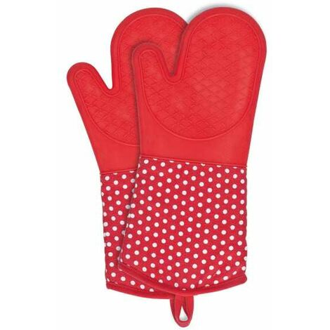 Oven gloves Silicone Red WENKO