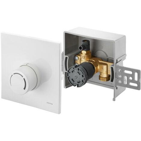 Oventrop Unibox RTL Régulation de la température thermostat Uni RTLH profondeur 57 mm # 1022635