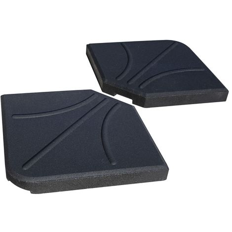 """main image of """"Overhang Parasol Base Weights Pack of 2"""""""