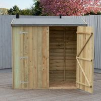 Overlap Pressure Treated Pent Shed or Tool Store