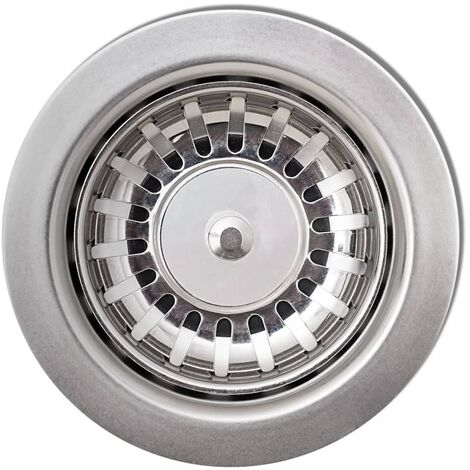Overmount Kitchen Sink Double Basin Granite Grey QAH04098