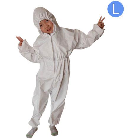 """main image of """"Overol antibacteriano, reutilizable, traje de aislamiento protector para ninos,L"""""""